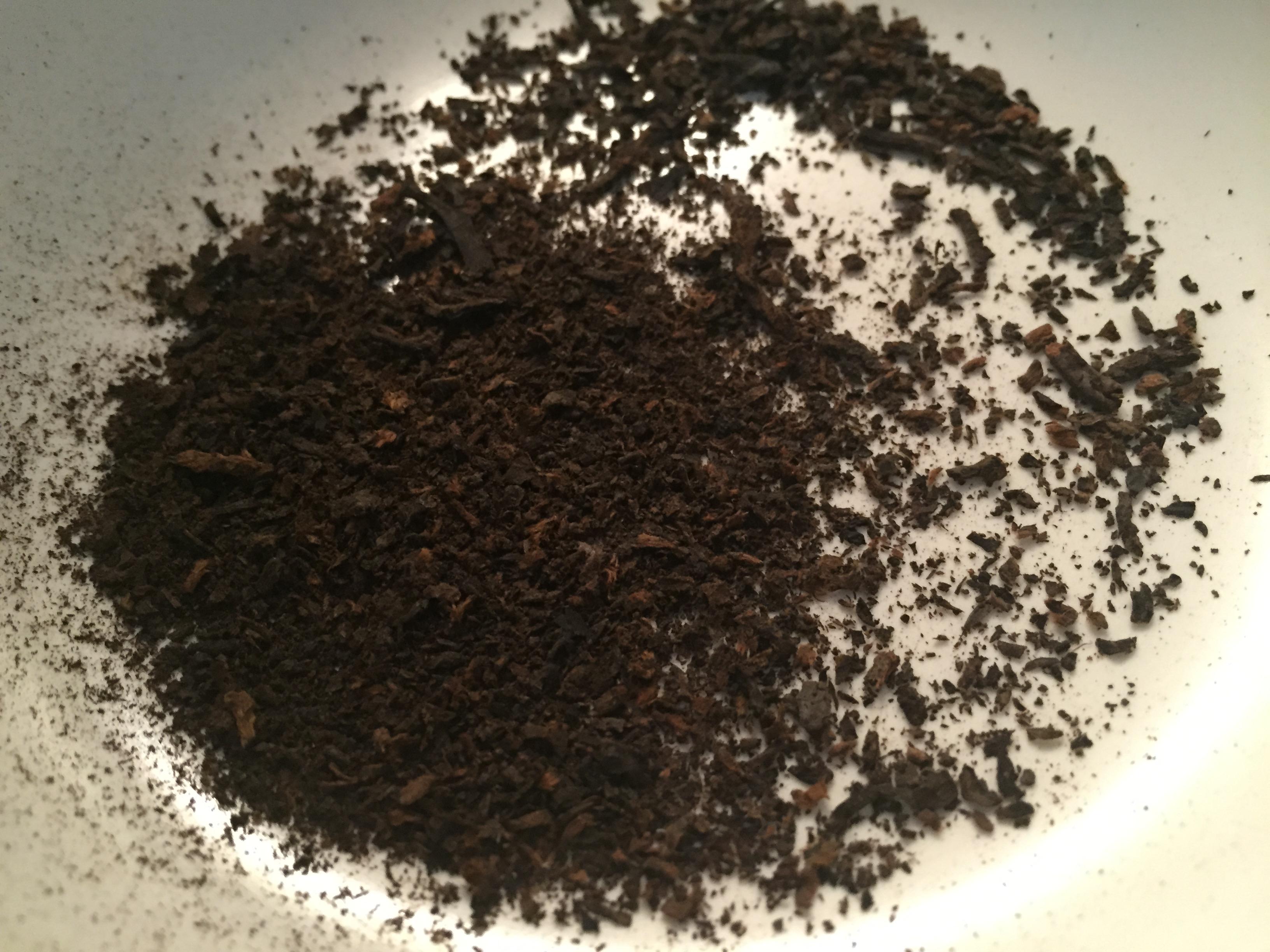 Pu-erh tea at Yixing Xuan Teahouse