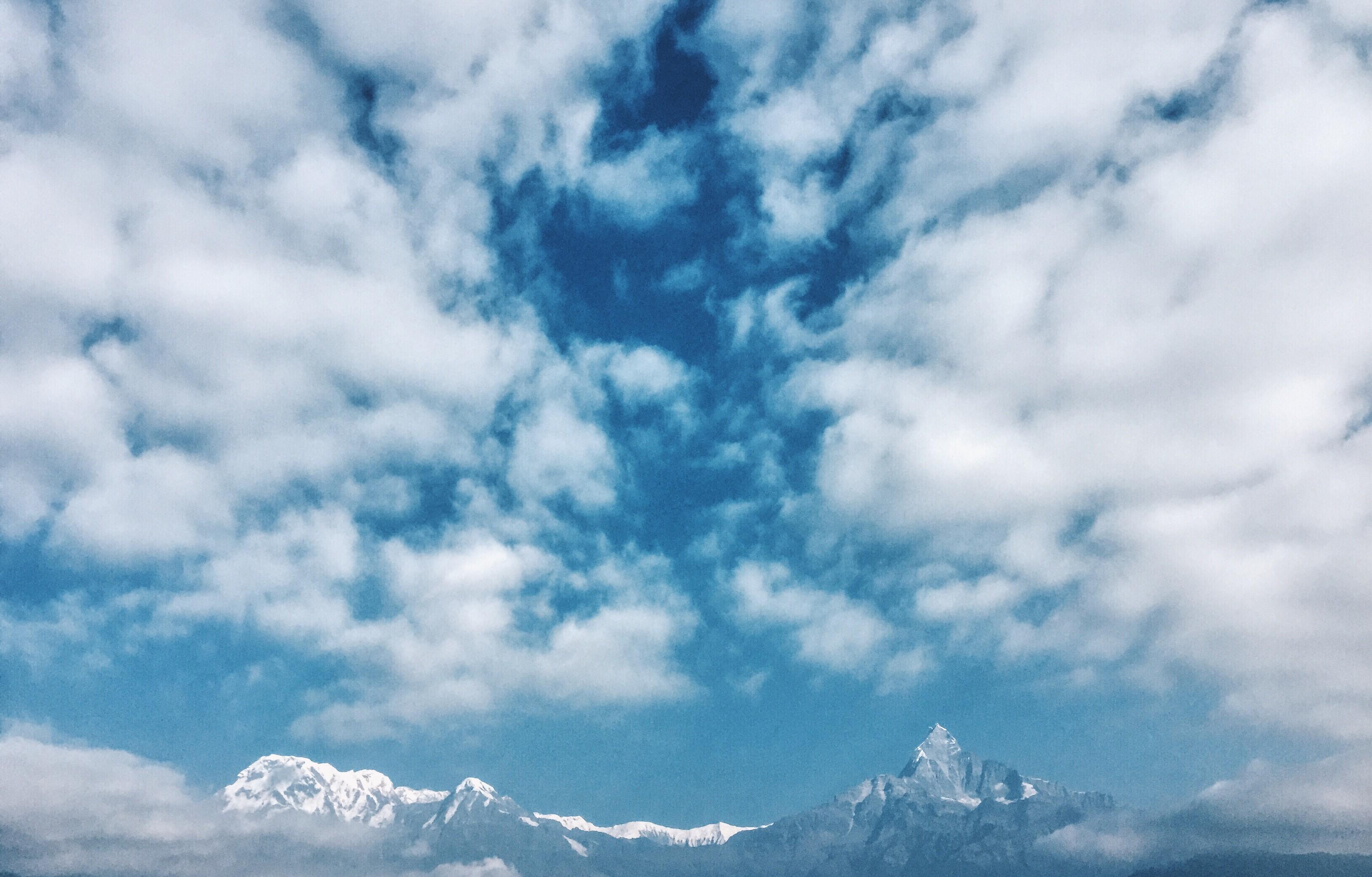 Annapurna 1, Annapurna South, Machhapuchhre.